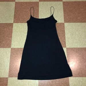 United benneton Navy skinny strap mini dress md